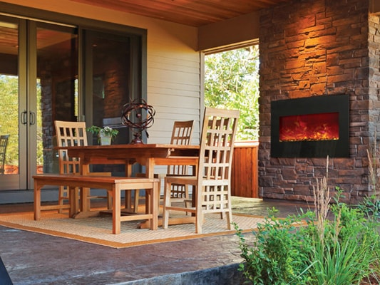 Electric Fireplaces, Stoves and Inserts | Hearth and Home