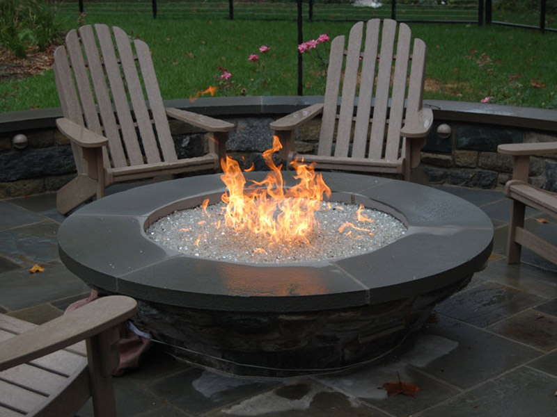 Backyard Gas Fire Pit outdoor gas fire pits | hearth and home shoppe richmond