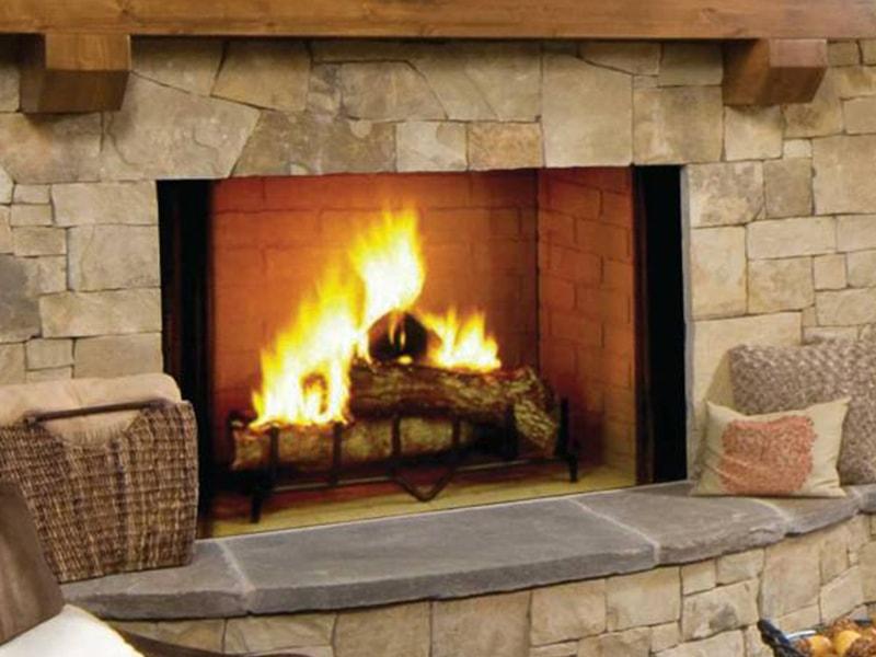 Fireplace Design burning fireplace : Wood-burning fireplaces | Hearth and Home Shoppe VA