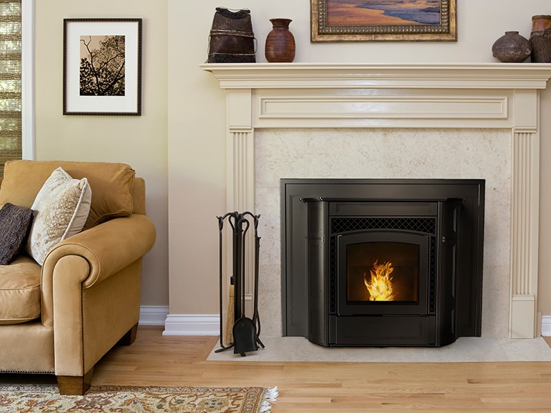 Pellet Fireplace Inserts | Hearth and Home Shoppe Virginia