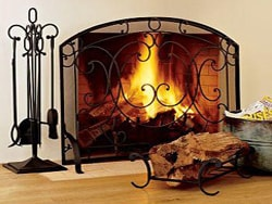 Hearth and Home - Fire Screens, Glass Doors, and other Fireplace ...